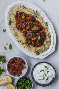 A fantastic Moroccan stew with lamb. This traditional Moroccan dish is full of complex, aromatic flavours Lamb Recipes, Meat Recipes, Dinner Recipes, Cooking Recipes, Moroccan Lamb Tagine, Morrocan Lamb, Morrocan Food, Lamb Tagine Recipe, Tajin Recipes