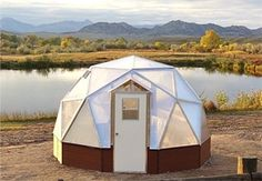 15 FT  Small  Dome Greenhouse Kits