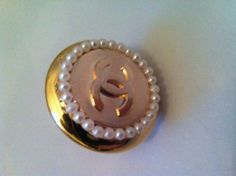 HANDMADE 129 - anello bottone logo