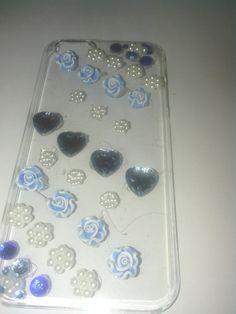 Blue/White Phone Case