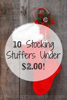 Stocking stuffers for under 3 christmas gift ideas for Inexpensive stocking stuffers for adults