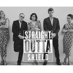 Notice how the initials then become SOS. Welcome to the Agents of Shield fandom.
