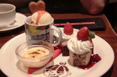 At Moomin Cafe Moomin Cafe, Sweet Coffee, Coffee Time, Finland, Panna Cotta, Pudding, Ethnic Recipes, Desserts, Food