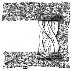 """https://flic.kr/p/hHEDaB   challenge_145   Weekly Challenge #145: """"New Official Tangle: Quib"""""""