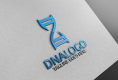 DNA Logo by Josuf Media on @creativemarket