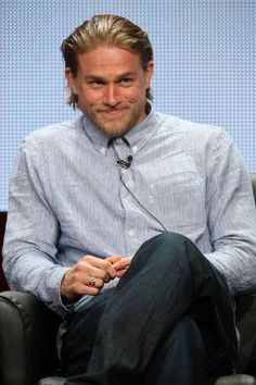Charlie Hunnam Vs. Jax Teller from 'Sons of Anarchy': One Of These Things Is Not Like The Other