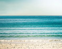 ocean photography beach nautical decor waves by mylittlepixels