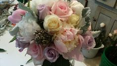 Rose and peony bouquet  by An Event To Remember