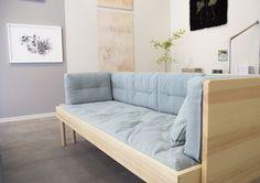 Once again such a beautiful exhibition at Lokal gallery! Including Johanna Gullichsen's new folding cushions and Eos green upholstery fabric on Mattila&Merz sofa. KASVU, TILLVÄXT, GROWTH / 10.6.-21.8.2016  www.lokalhelsinki.com