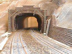 Tunnel portal under construction