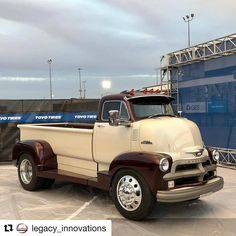 "895 Likes, 6 Comments - Classic Cars, Trucks (@classiccarcorral) on Instagram: ""from @coetrucks - #Repost @legacy_innovations (@get_repost) ・・・ The '54 COE made it into the top…"" #classictrucks"