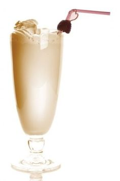 Dom Pedro - a grown-up thick shake on every restaurant's menu in South Africa!