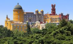 "Palácio da Pena, Sintra. ""Lisbon's Most Beautiful 10 Palaces"""