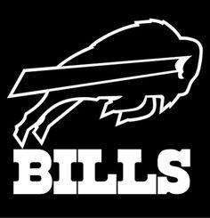 Buffalo Bills Bling Emblem Car Decal