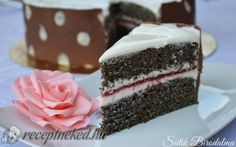 10 szuper torta, amit Te is meg tudsz csinálni! Poppy Cake, Hungarian Recipes, Cake Cookies, Other Recipes, Vanilla Cake, Tart, Cheesecake, Food And Drink, Birthday Cake