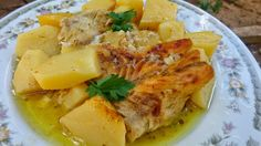 Greek Recipes, Desert Recipes, Fish Recipes, Seafood Recipes, Snack Recipes, Cooking Recipes, Yummy Mummy, Yummy Food, Greek Fish