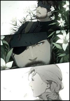 Metal Gear 3, Raiden Metal Gear, Snake Metal Gear, Metal Gear Solid Series, Big Boss Metal Gear, Anime Couples Manga, Cute Anime Couples, Anime Girls, Videogames