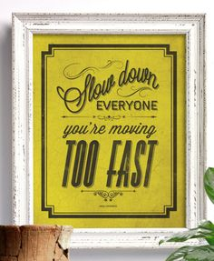 Use posters in weathered frames for a modern, graphic yet authentic and comfortable vibe.