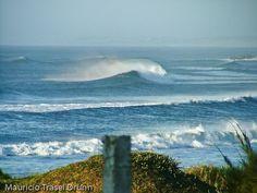 Cardoso Surf Camping View - Laguna, State of Santa Catarina, South of Brazil. Photo by Mauricio Drunn.