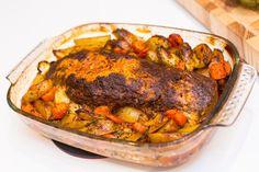 Italiensk köttfärslimpa - 56kilo.se - Recept, inspiration och livets goda Swedish Recipes, Recipe For Mom, Tandoori Chicken, Ground Beef, Low Carb Recipes, Love Food, Paleo, Pork, Turkey