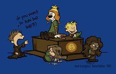 Firefly meets Calvin & Hobbes