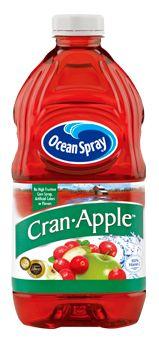 Ocean Spray Cran-Apple Cranberry Apple Juice drink