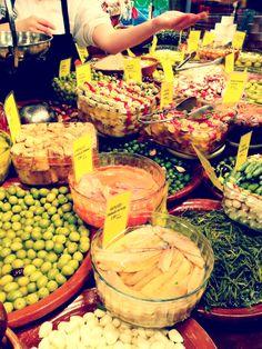s'olivar market at palma de mallorca