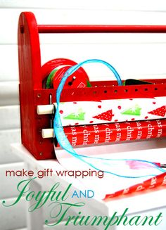 Craftaholics Anonymous® | 11 Gift Wrap Storage Solutions