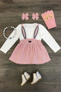 Shop cute kids clothes and accessories at Sparkle In Pink! With our variety of kids dresses, mommy + me clothes, and complete kids outfits, your child is going to love Sparkle In Pink! Baby Outfits, Little Girl Outfits, Cute Outfits For Kids, Little Girl Fashion, Toddler Girl Style, Toddler Girl Outfits, Toddler Girls, Kids Girls, Pink Kids