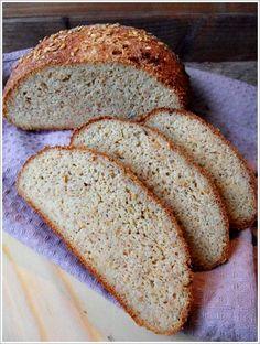 Glutenfreies Low Carb Brot mit Flohsamenschalen Pulver