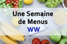Une Semaine de Menus WW – Recette WW – Plat et Recette A week of WW Light Menus, balanced weekly menu ideas for the week that contain balanced, varied and light meals to adopt Healthy Diet Recipes, Ww Recipes, Healthy Breakfast Recipes, Light Recipes, Water Recipes, Menu Leger, Menu Ww, Diet Food List, Batch Cooking