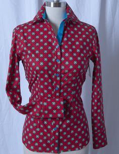 CR Tradition Red Diamonds Western Shirt