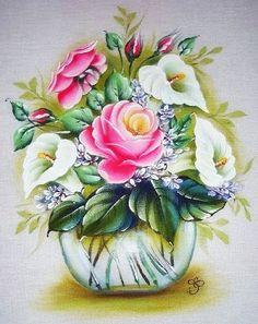 Pintura Em Tecido - Venha Aprender Pintura em Tecido: passo a passo