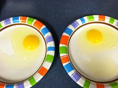 MLK Day activity: a brown egg and a white egg. look a little different on the outside--but the same inside.
