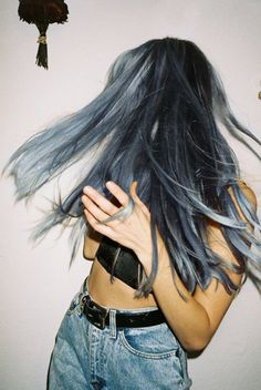 Guys, one day I will dye my hair blue... I have only been talking about it for a year..