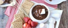 This fun slow-cooker dessert dip lets you all enjoy the sweet flavors of your family's favorite summer treat, no campfire required!
