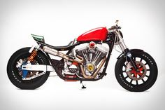 Based on a stock 1990 FXR with a factory-reconditioned motor, this Church of Choppers Harley-Davidson FXR Motorcycle is far from its factory-approved roots. Adorned with subtle splashes of color in unexpected places, this one-of-a-kind ride features a ton of custom...