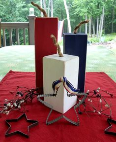 4th of July Fireworks Firecrackers Home by Vikkisvintageworks, $15.00
