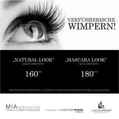 Natural Look & Mascara Look mit Luxuslashes. Jetzt testen!