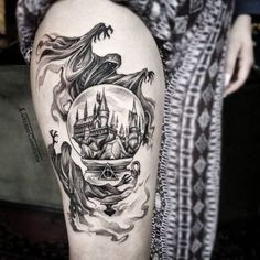 Awesome 'Harry Potter' Tattoo Inspiration | Obsev