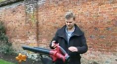 Trueshopping Cordless Battery Powered Leaf Blower & Vacuum as seen on The Alan Titchmarsh Show