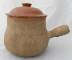 FRENCH ANTIQUE DAUBIERE VALLAURIS POTTERY CONFIT POT