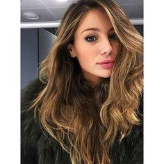 Gorgeous honey brown long hair inspiration. #honey #brown #hair