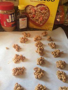 Cheerio Clusters – Mini Pig Healthy Treats