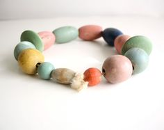 Vintage Baby Beads on a String