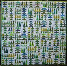 Geese in the forest http://seaside-stitches.blogspot.com/2009/10/ready-for-quilt-show.html