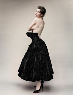 Laetitia Casta: L'Adorée - Vogue Paris by Mario Testino, May 2012