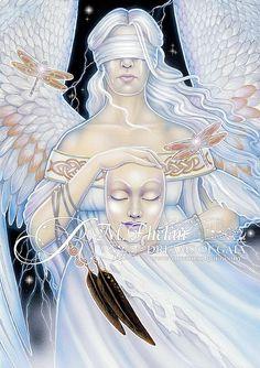 Ravynne Phelan - Dreams of Gaia Tarot and Fantasy Art Gaia, Tarot By Cecelia, Tarrot Cards, Michele Lee, Astro Tarot, Le Tarot, Tarot Card Decks, Oracle Cards, Archetypes