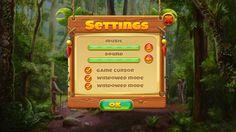 ArtStation - UI design for casual game, Vera Shcherbak