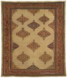 MALAYER CAMELHAIR, Northwest Persian 11ft 9in x 13ft 8in Circa 1900 http://gallery.claremontrug.com/gallery/?p=1